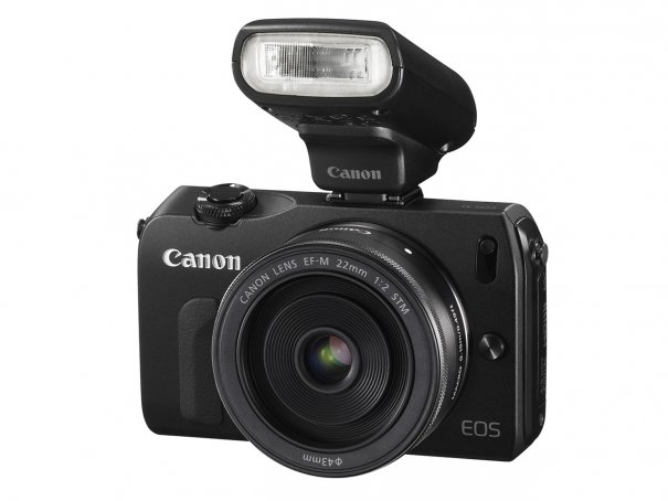 Сanon объявил о выходе беззеркальной камеры EOS M - №1