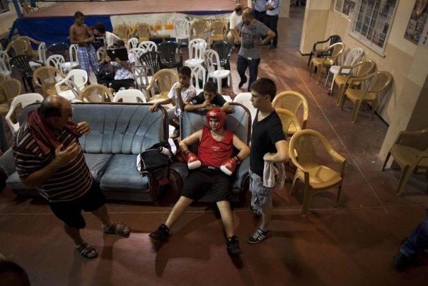 Израильский мир, установленный в боксе - №15