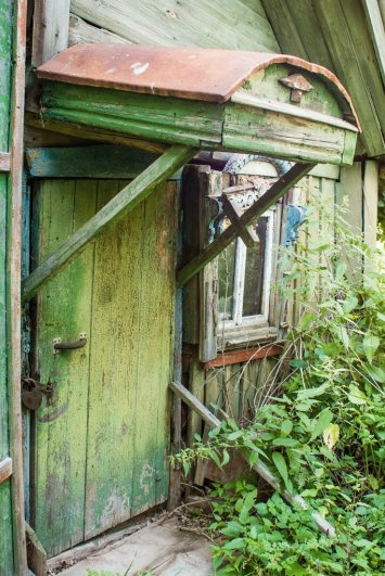 Заброшенный дом в Заречье