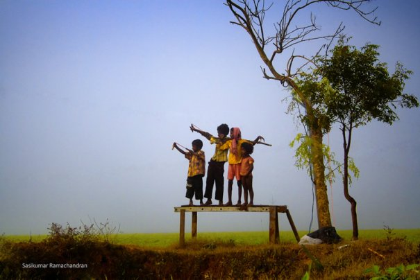Талантливый индийский фотограф Сасикумар Рамачандран - №13