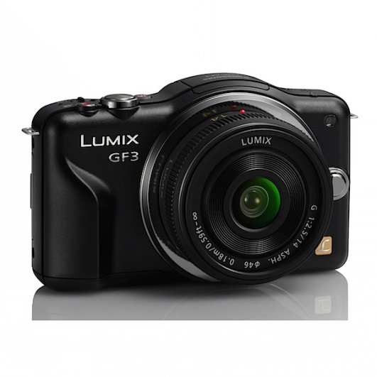 7. Panasonic Lumix DMC-GF3CK Kit Black