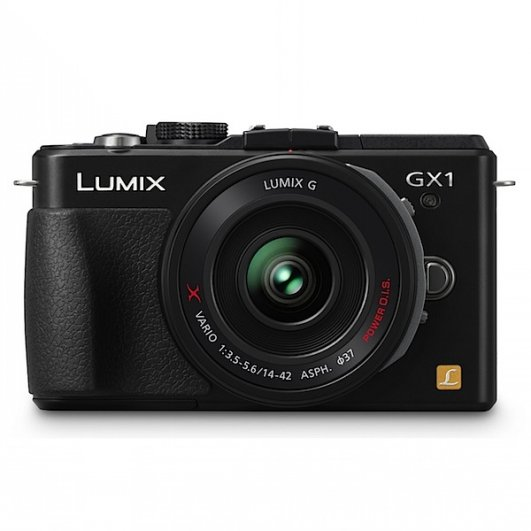 8.  Panasonic Lumix DMC-GX1X
