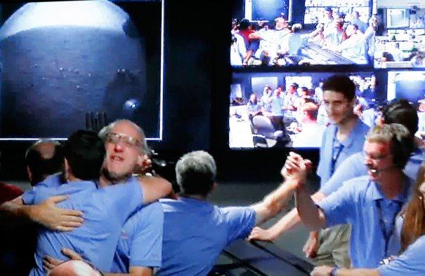 Reuters/Courtesy NASA TV