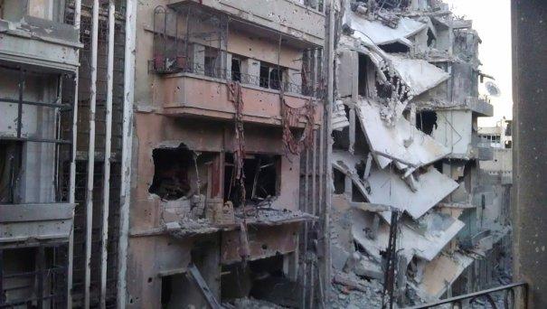 Reuters/Khaled Tellawi/Shaam News Network