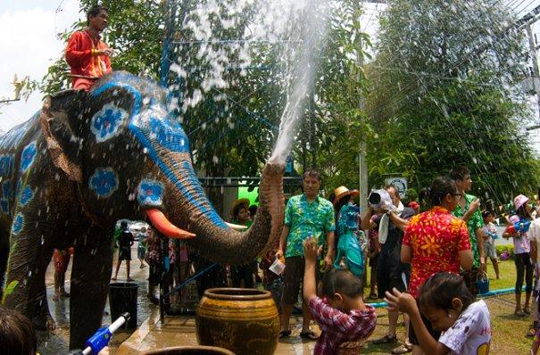 Сонгкран - новый год в Таиланде - №9