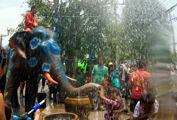 Сонгкран - новый год в Таиланде - №10