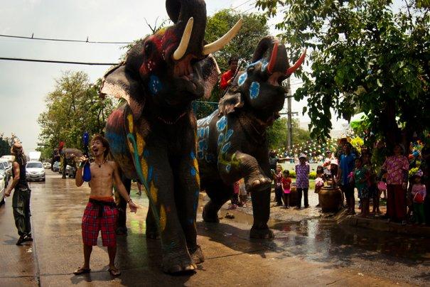 Сонгкран - новый год в Таиланде - №11