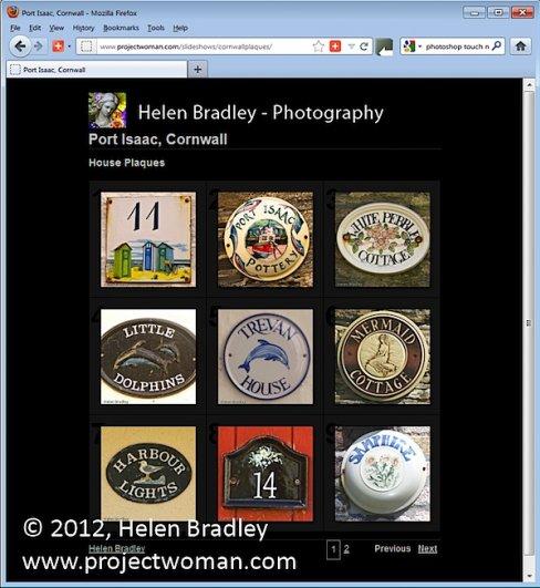 Как создать HTML фото галерею в Lightroom - №1