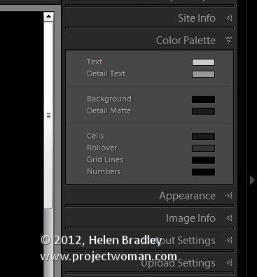 Как создать HTML фото галерею в Lightroom - №6