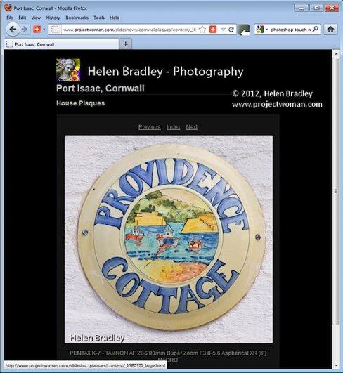 Как создать HTML фото галерею в Lightroom - №12