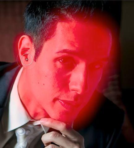 Ретушь мужского портрета в Lightroom 4, часть 2 - №7