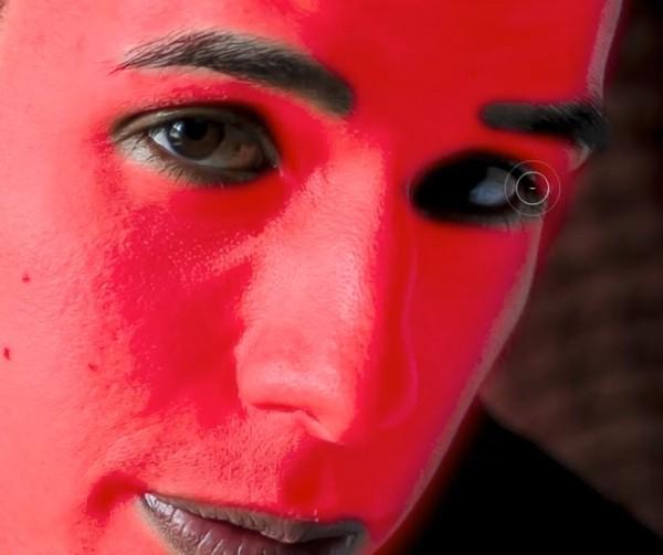 Ретушь мужского портрета в Lightroom 4, часть 2 - №8