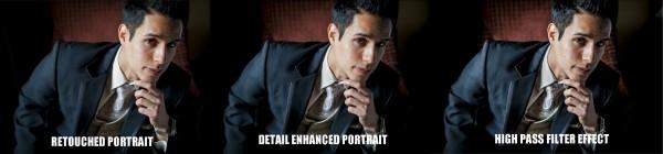 Ретушь мужского портрета в Lightroom 4, часть 3 - №1
