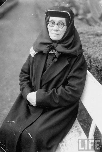 Екатерина Джугашвили, мать Иосифа Сталина, Тбилиси, 1931 г