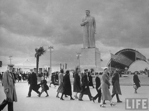 Москва, ВДНХ, 1941