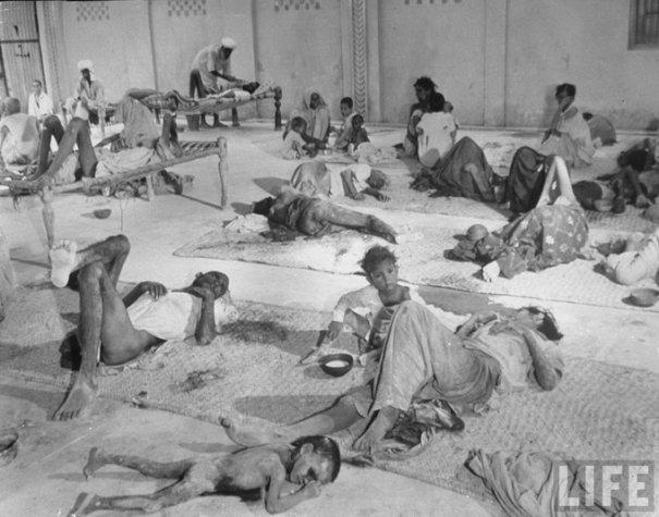 Холера в Индии, 1947