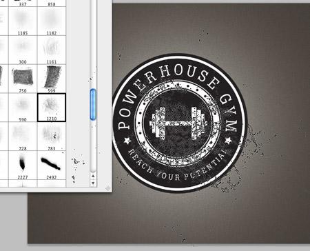 Как сделать логотип в ретро стиле - №19
