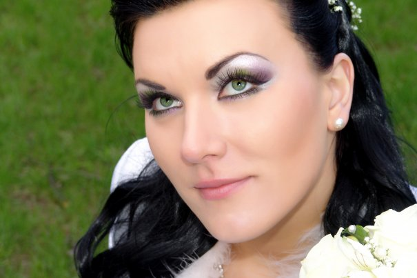 Макияж невесты в цветовой гамме букета!