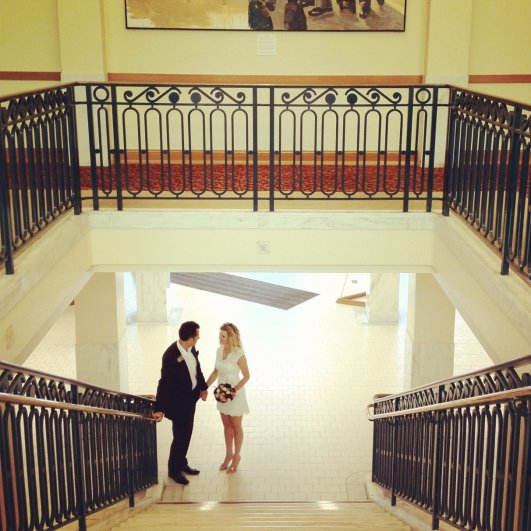 Свадьба, снятая на iPhone - №1