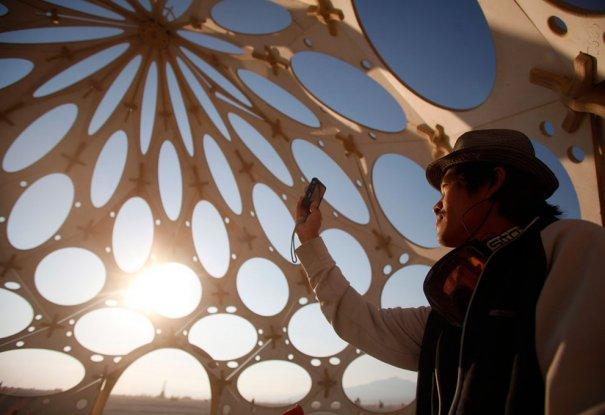 Фестиваль Burning Man 2012 - №2