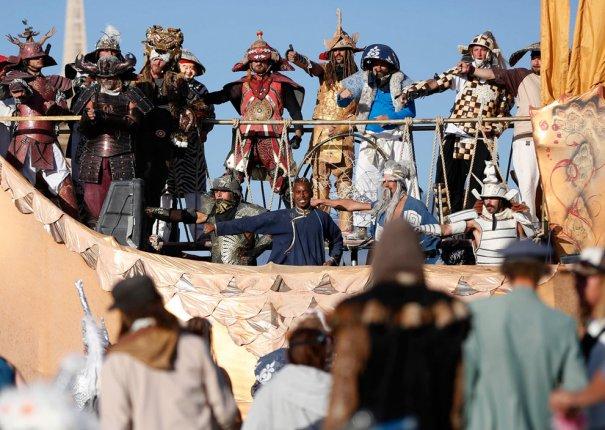 Фестиваль Burning Man 2012 - №6