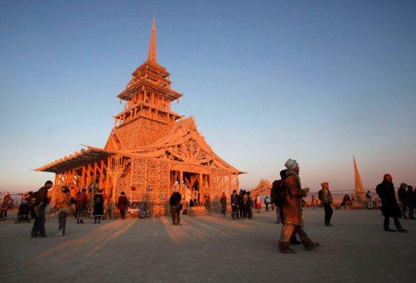 Фестиваль Burning Man 2012 - №8