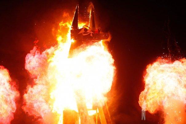 Фестиваль Burning Man 2012 - №10