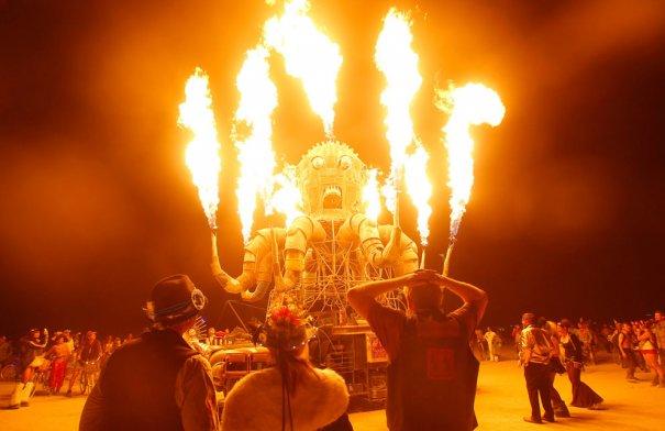 Фестиваль Burning Man 2012 - №12