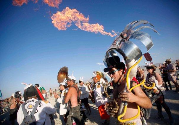 Фестиваль Burning Man 2012 - №13