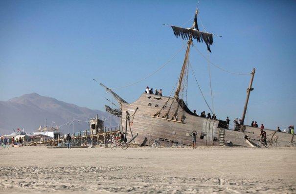 Фестиваль Burning Man 2012 - №14