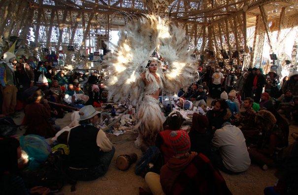 Фестиваль Burning Man 2012 - №16
