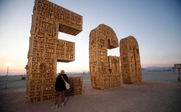 Фестиваль Burning Man 2012 - №17
