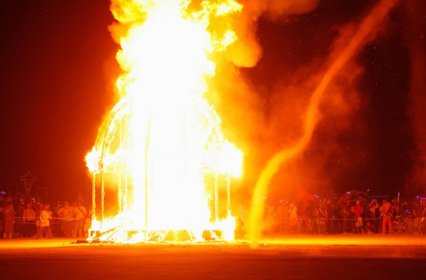 Фестиваль Burning Man 2012 - №23