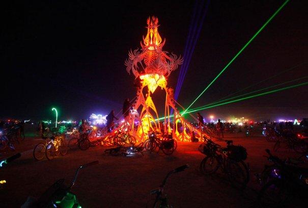 Фестиваль Burning Man 2012 - №24