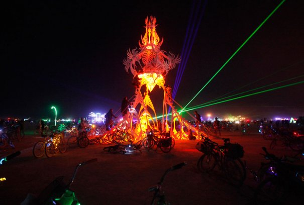 Фестиваль Burning Man 2012 - №24