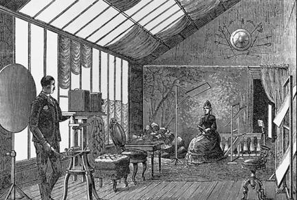 фотостудия XIX века