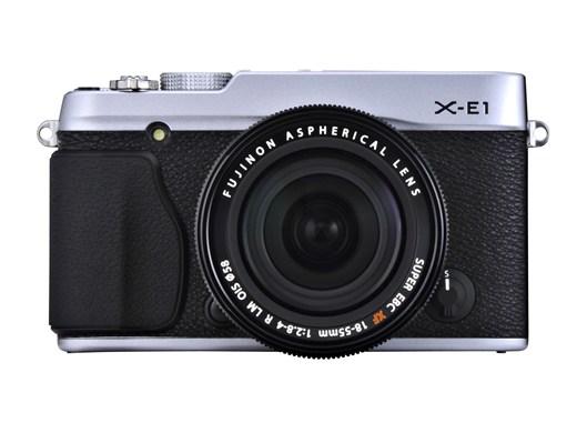 Анонс Fujifilm X-E1 - №1
