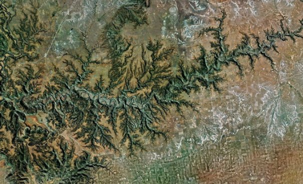 Спутниковые пейзажи Google Earth - №1