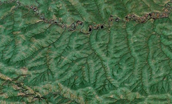 Спутниковые пейзажи Google Earth - №2