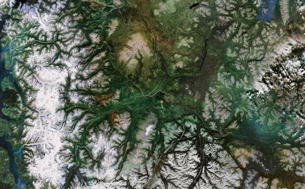 Спутниковые пейзажи Google Earth - №5