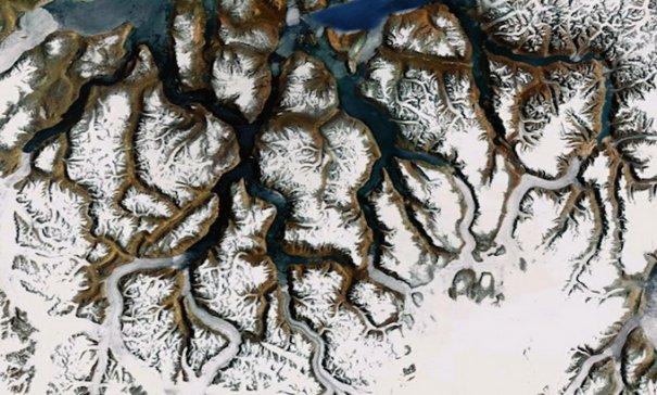 Спутниковые пейзажи Google Earth - №7