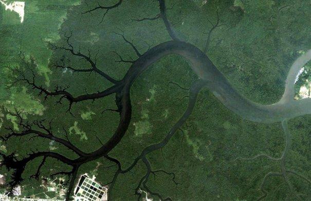 Спутниковые пейзажи Google Earth - №8
