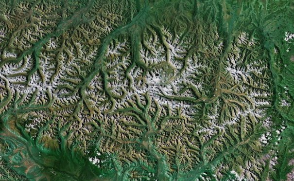 Спутниковые пейзажи Google Earth - №10