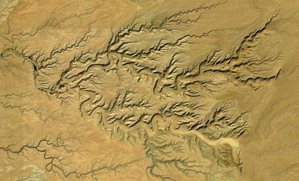 Спутниковые пейзажи Google Earth - №11