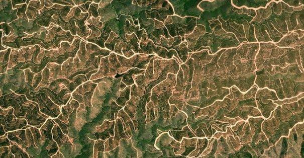 Спутниковые пейзажи Google Earth - №13