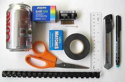 Пинхол камера из спичечной коробки - №1