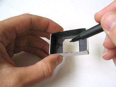 Пинхол камера из спичечной коробки - №3