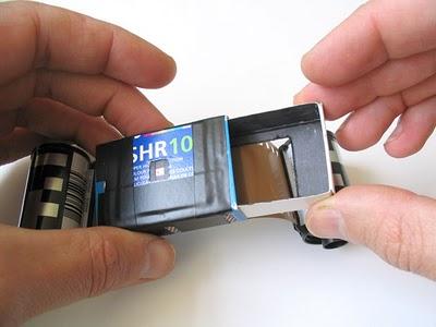 Пинхол камера из спичечной коробки - №22