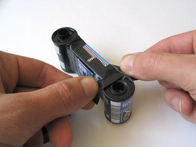 Пинхол камера из спичечной коробки - №26