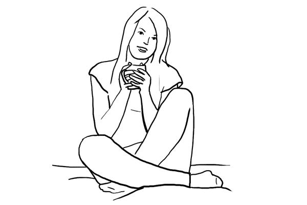 Основные позы для женской фотосессии, часть 2. - №5